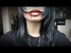 Tutorial make up Jeff The Killer - YouTube