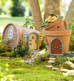 Миниатюрные скульптуры для волшебного сада. Идеи для вдохновения