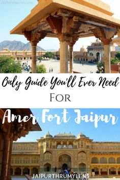 Guide to Amer Fort Jaipur .Everything you need to know about Amer Fort in Jaipur. History of Amer Fort. Whent o visit. How to visit. Jodhpur, China Travel, Japan Travel, Agra, Travel Guides, Travel Tips, Taj Mahal, Amer Fort, India Travel Guide
