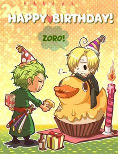 --Zoro and Sanji--