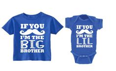 Matching Sister Shirts, Sister Shirts, Matching Sister Shirts,  Extremely soft baby boy onesie and Tshirt- 65% Cotton, 35% Polyester **Tshirts
