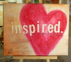 Inspired. Inspired love, inspired art. What this board is about! <3 :)