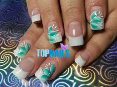 Image result for french acrylic nails art