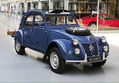 Citroen 2CV Sahara twin engine 4x4