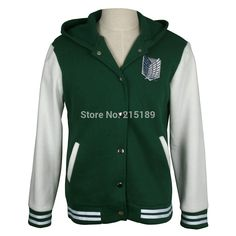 Shingeki no kyojin attack on titan jacket Velvet fashion casual hoodies Sweatshirt cosplay anime