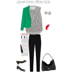 A fashion look from February 2015 featuring Rebecca Taylor blouses, Zara blazers and Armani Collezioni capris. Browse and shop related looks.