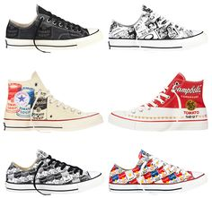 c1db0622ebe0 Converse Chuck Taylor All Star x Andy Warhol - Sneakers.fr