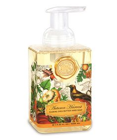 Love this Autumn Harvest Foaming Hand Soap by Michel Design Works on #zulily! #zulilyfinds