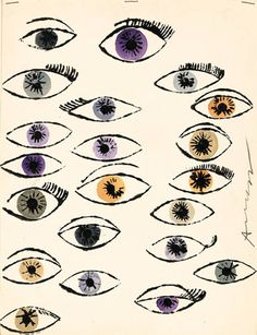 Andy Warhol | Untitled (Eyes)                                                                                                                                                      More