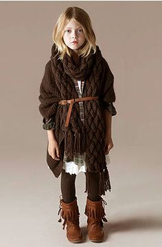 Boho Chic Clothing For Kids Winter Style Kids Fashion