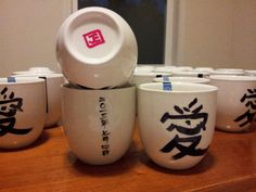 Chinese Tea Cup Favors for Wedding Tea Ceremony - Love on Etsy, $3.50