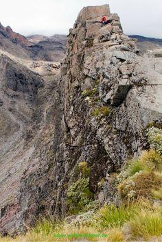 Meads Wall im Whakapapa Skigebiet. Der Tongariro National Park auf Neuseelands Nordinsel ist ein Muss auf jeder Neuseelandreise!