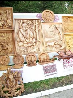 Wooden carving, Ukraine, from Iryna