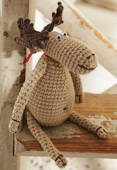 Moose, Free pattern...could someone make this for me?
