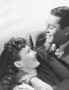 """Barbara Stanwyck and Henry Fonda. Loved them together in """"The Lady Eve"""""""