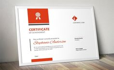 Bar certificate docx template by Inkpower on @creativemarket