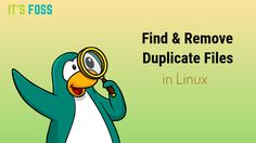 FSlint is a great GUI tool to find duplicate files in Linux and remove them. FDUPES also find the files with same name in Linux but in the command line way.