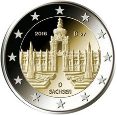 2 Euro Germania 2016