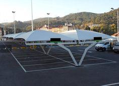 cobertura estacionamento garagem supermercados
