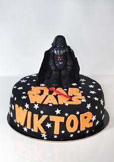 Star Wars cake Lord Vader