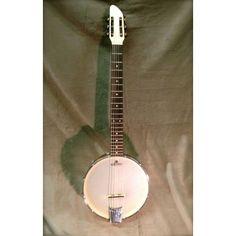 Shackleton 6-string Guitar Banjo made by The Great British Banjo Company Ltd in #Norfolk