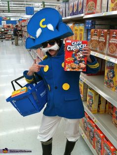 Cap'n Crunch Costume - Halloween Costume Contest via @costumeworks wow very creative!