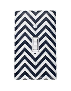 chevron lightswitch cover