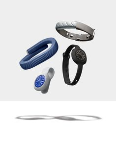 Three ways to chase your fitness goals. Check out the UP MOVE, UP3 and UP24 activity trackers by @Jawbone.