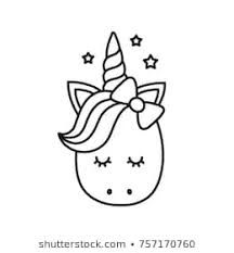 Simple Coloring Book Image Baby Unicorn Google Search Unicorn Coloring Pages Unicorn Drawing Unicorn Images