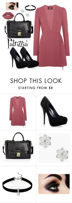 Patrizzia10.12.2016b by patrizzia on Polyvore featuring moda, Reformation, Karl Lagerfeld, Talbots, Loren Olivia and Lime Crime