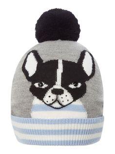 乂❤FRENCHIE❤乂Kate Spade french bulldog knitted hat   Authentic   320b0e19a81c