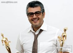 Actor Ajith Kumar at Vijay Awards