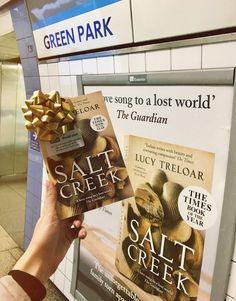 Salt Creek poster in Green Park underground station Green Park, Salt, Poster, Food, Essen, Salts, Meals, Yemek, Billboard