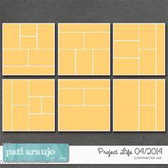 Project Life 04/2014 by Pati Araujo  | CU/Commercial Use #digital #scrapbook design tools at CUDigitals.com #digitalscrapbooking