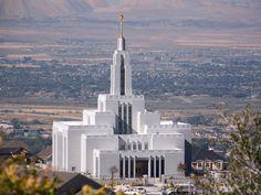 pictures of lds temples | Draper Utah LDS (Mormon) Temple Photograph Download #28