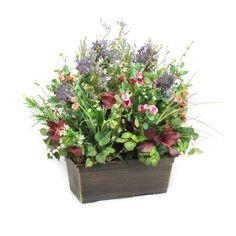 Dalmarko Designs Wildflowers and Blossoms in Lightweight Window Box