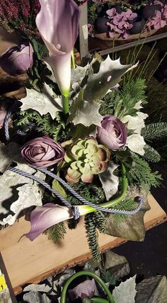 Funeral Flowers, Ikebana, Plants, Vintage, Home Decor, Floral Arrangements, All Saints Day, Decoration Home, Room Decor