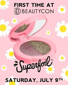 Can't wait to see #Superfoils IRL?! Be sure to check us out at #BeautyconLA on July 9th to swatch these babies with your own hand! Stop by our booth no. 78 & receive a FREE gift with purchase - get your tickets now before they sell out - Just follow the link in @beautycon bio. See you all there! 🦄