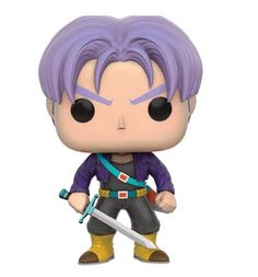 Dragonball Z Pop! Trunks Vinyl Figures Wave 2