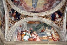 Giovan Battista Guarinoni - Storie del Battista - 1577 circa - Cappella a destra - Chiesa San Michele al Pozzo Bianco - Bergamo (Italia)