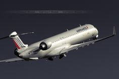 Air France by BritAir   Bombardier CRJ-1000 F-HMLJ   Paris ORY   by wabgs