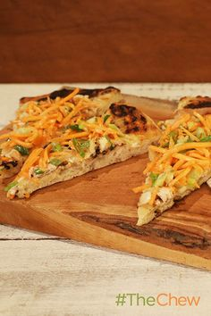 Pizza isn't just for Italian ingredients anymore! Try this Asian Garden Vegetable Flatbread.