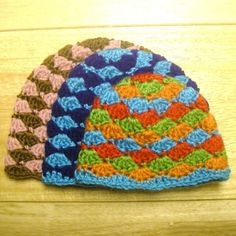 Crochet Pattern - Angela Hat with Flower (Sizes Newborn to Adult)