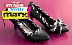 DIY Fabulous Shoe Makeover
