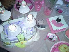 Things I made for ballerina party
