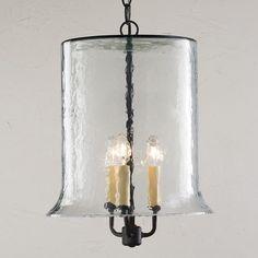 Rustic Glass Lantern