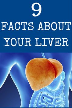 9 Facts about your Liver. Kinda scary...I need to take better care of my liver.