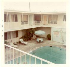 Motel pool. I love them. All of them.