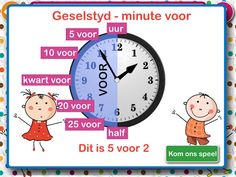 Leer om tyd te lees by Fanie Deysel Teaching Clock, Teaching Time, Teaching Resources, Free Preschool, Preschool Worksheets, Afrikaans Language, Teaching English Grammar, Busy Bee, Grade 3