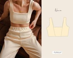 Amelie, To Go, Print Layout, Cardigan Pattern, Textiles, Sewing Clothes, Diy Clothing, Crop Tops, Pdf Sewing Patterns